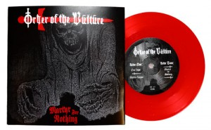 ORDER OF THE VULTURE - Martyr for Nothing EP - red vinyl