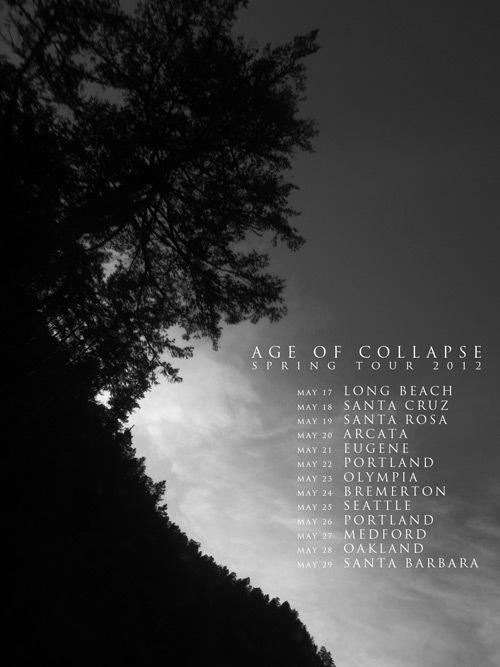 AGE OF COLLAPSE Spring Tour Dates 2012