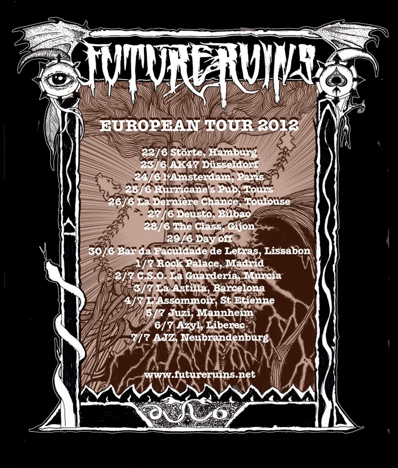 FUTURE RUINS European Tour Dates