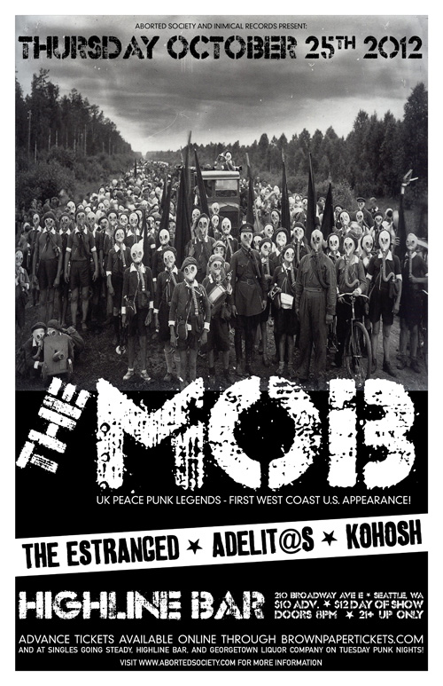 THE MOB in Seattle!